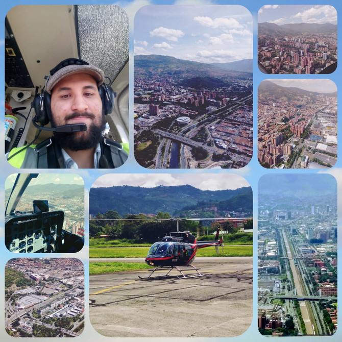 Mi vuelo en Fly Colombia City Tour