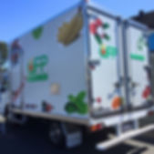 QFP trucks providing regular deliveries.