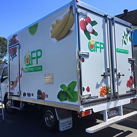 QFP trucks providing regular deliveries.