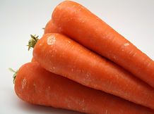 Locally sourced fresh, Australian carrots.