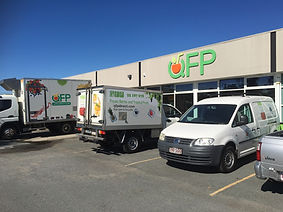 QFP factory servicing businesses and open to the public.