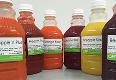 Fresh, one litre cold pressed juices.