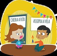 Illustration Escola Aprendendo a Crescer Porto Alegre - Fran Caye