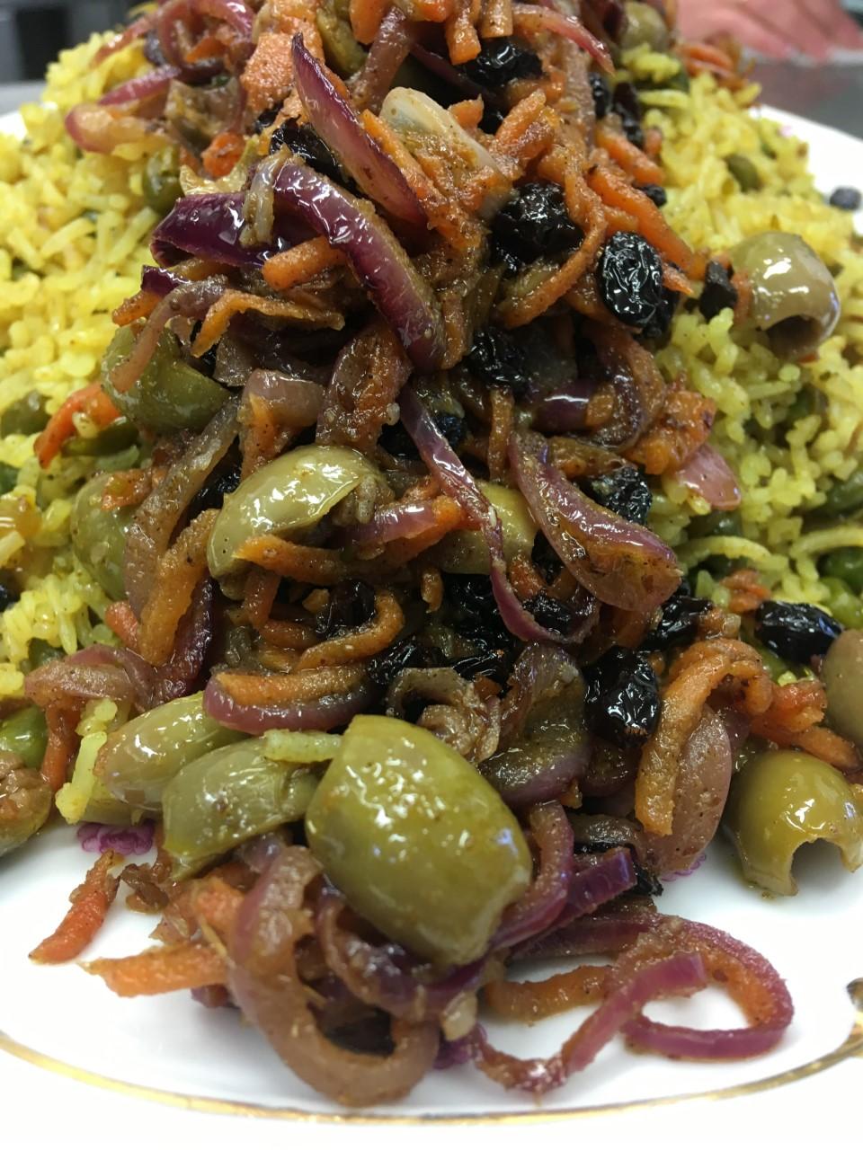 Yellow Moroccan Rice