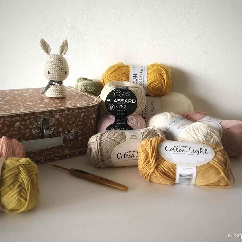 assortiment de laines