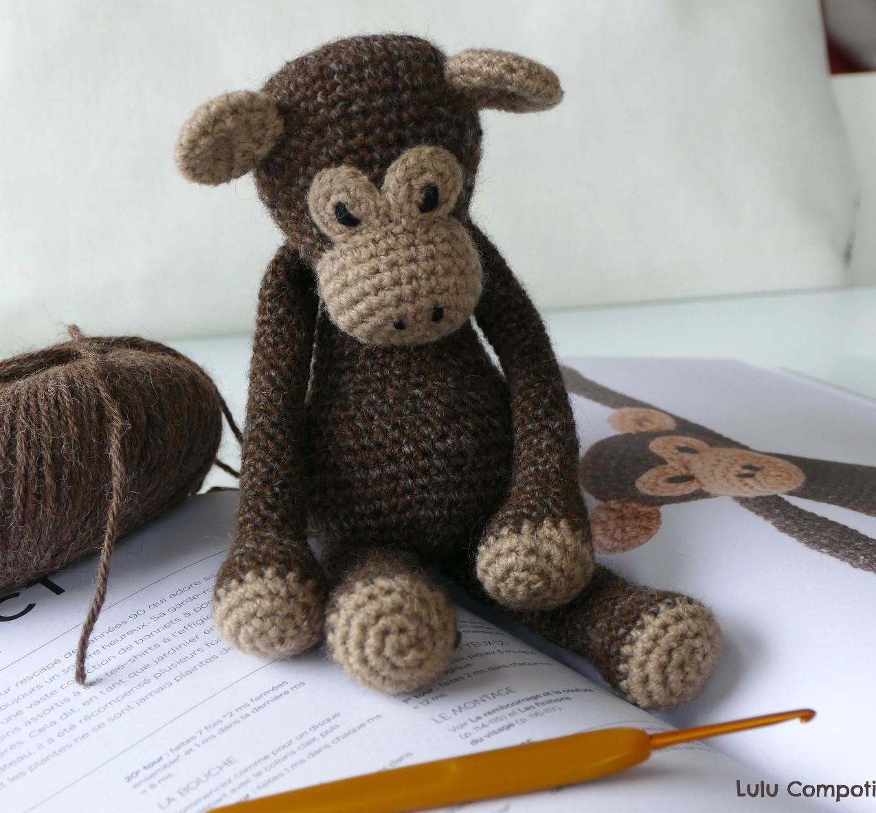 Benedict le chimpanzé