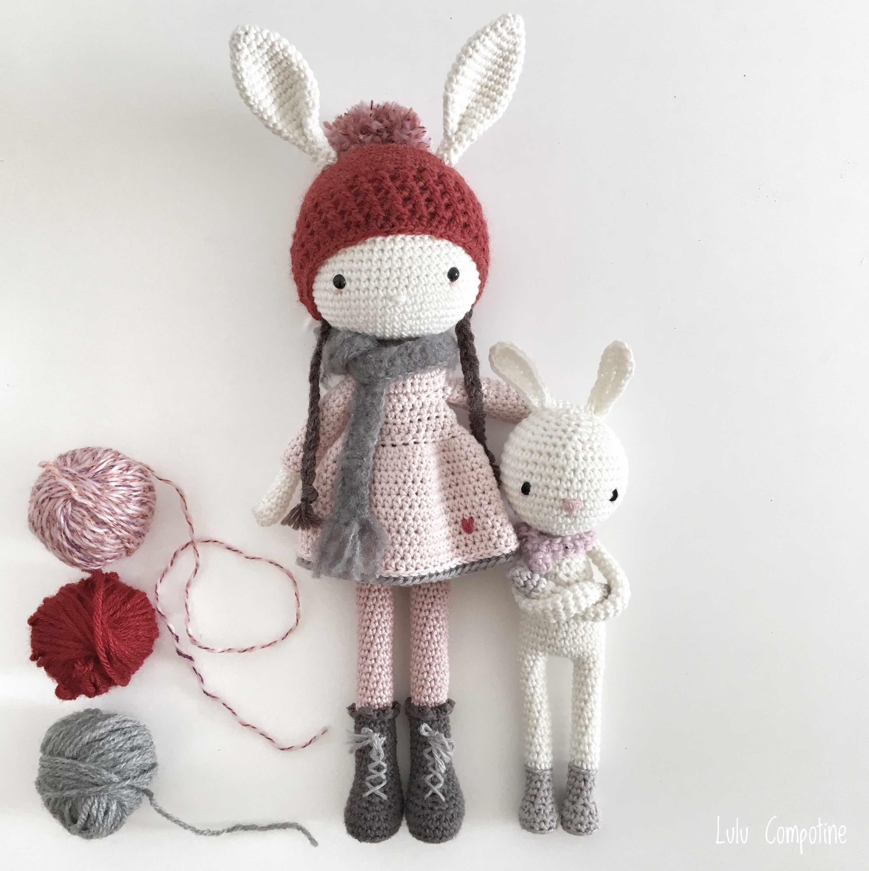 poupée lapin