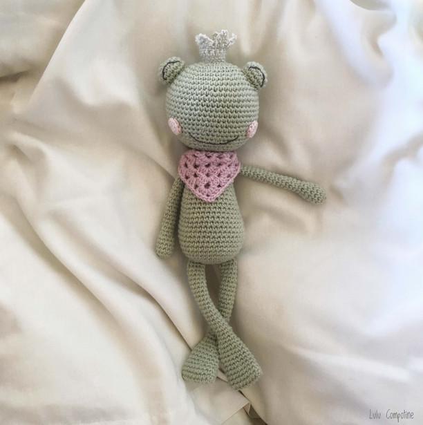 Une copine grenouille