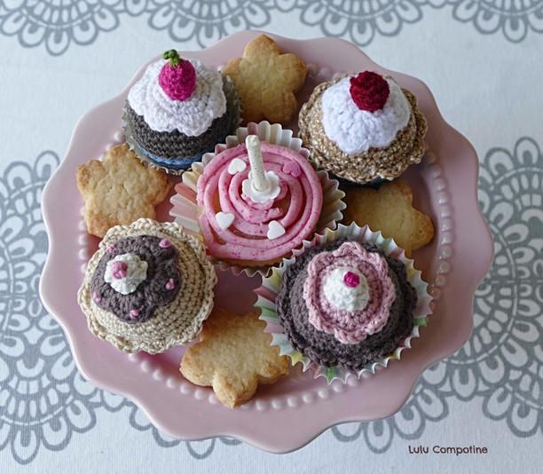 Des cupcakes d'anniversaire