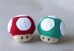 Champignons Super Mario