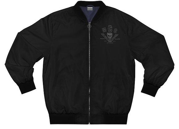 Medic Class Job Jacket (Back Logo - Charcoal on Black)