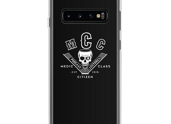 MCC Samsung Case - White on Black