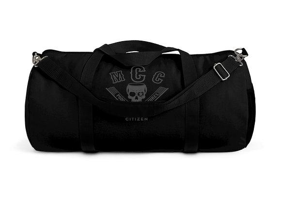 MCC Station Bag (Charcoal on Black)