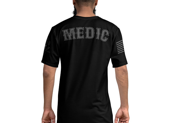 MCC MEDIC T-Shirt (Charcoal on Black)
