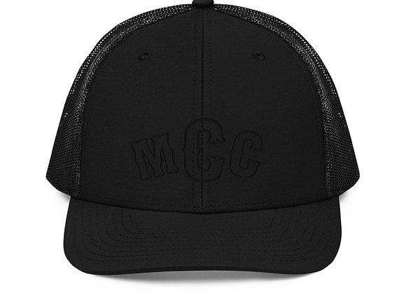 MCC Black Top Trucker Cap