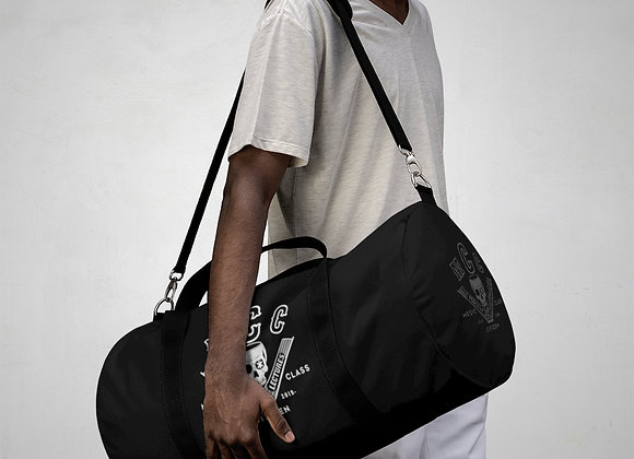 MCC Station Bag (White on Black)