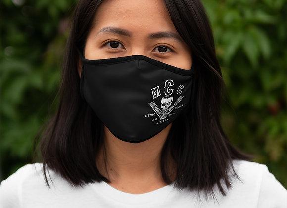MCC Mask (White on Black) w/ Filter Pocket