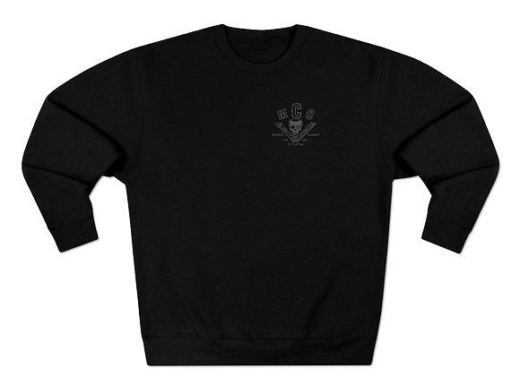 MCC Crewneck Sweatshirt (Charcoal on Black)