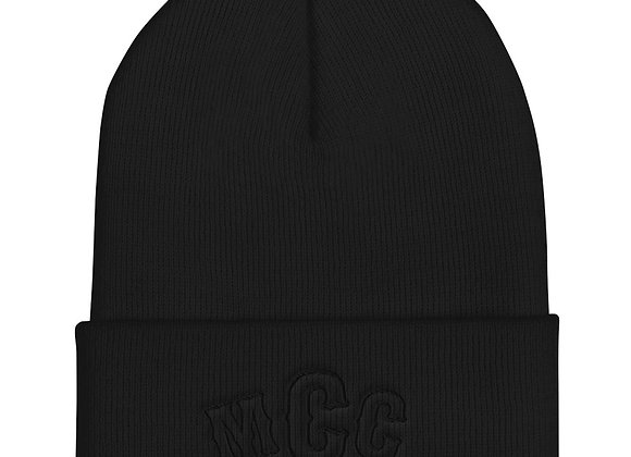MCC Black Top Beanie