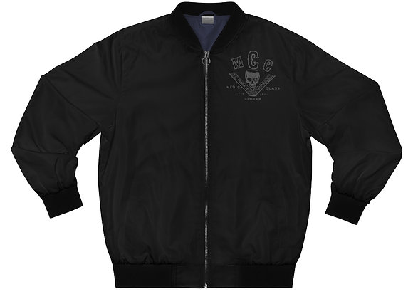 Medic Class Job Jacket (No Back Logo - Charcoal on Black)