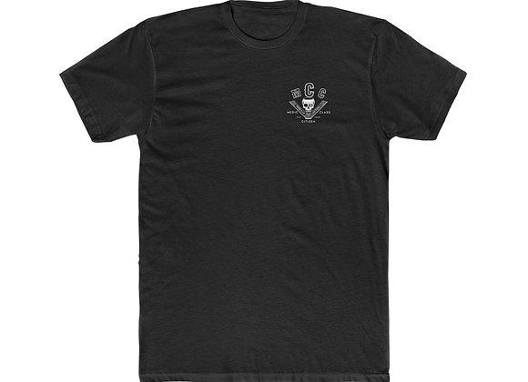 MCC Premium T-Shirt (White on Black)