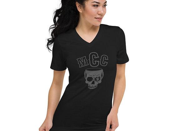 MCC Skull V-Neck T-Shirt