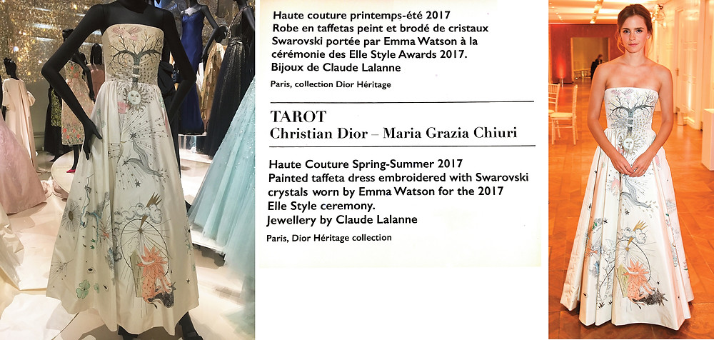 Maria Grazia 'Tarot' Dress for Emma Watson