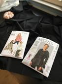 McCALLS #M7508 & #VogueV9285Pattern