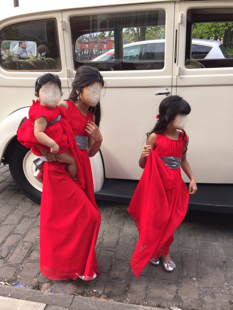 Matching Baby Bridesmaid