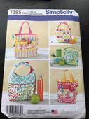 Simplicity 1385 Bag Pattern