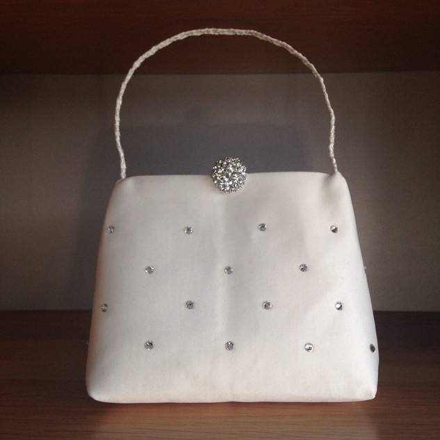 Dull Duchess Satin Brides Wrist bag