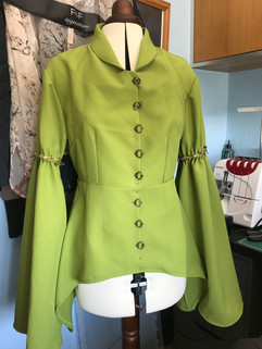 Tunic Blouse of McCalls Cosplay Sentinel outfit