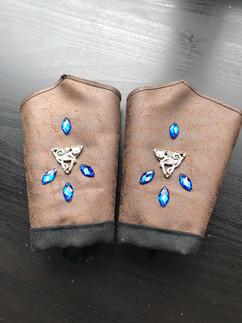 The Gauntlets (Braces) with gem stones