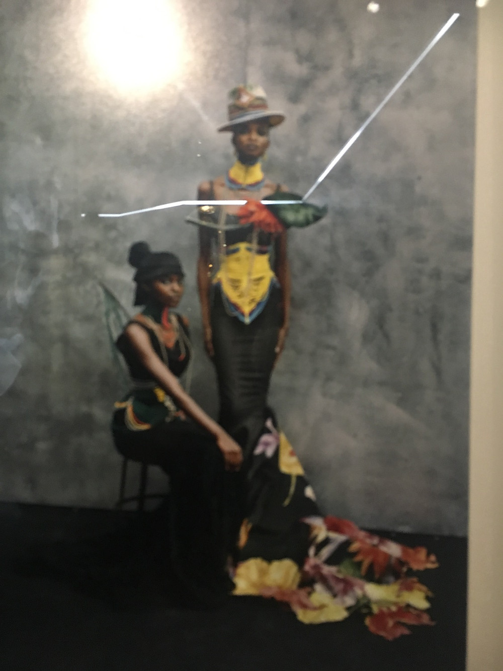 From the collection by John Galliano from his Massai collection. I only know these are the Kusudi and Kitu dresses from the book I purchased