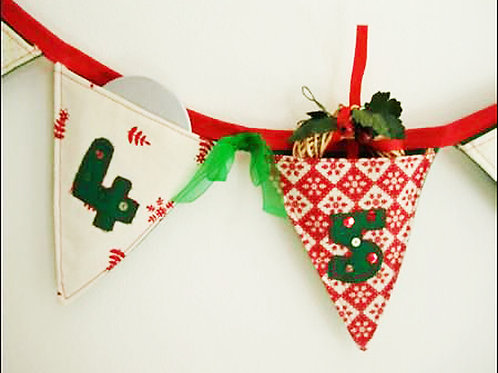 Part 1 Bunting Advent Calendar
