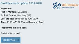 Prostate cancer update: 2019-2020