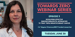 Developing effective immunotherapeutic approaches to treat triple negative breast cancer