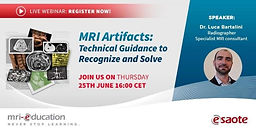 MRI Artifacts: Technical Guidance to Recognize and Solve