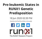 Pre-leukemic States in RUNX1 Geneti Predisposition