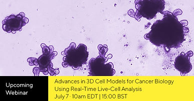 Advances in 3D cell models for cancer biology using real-time live-cell analysis