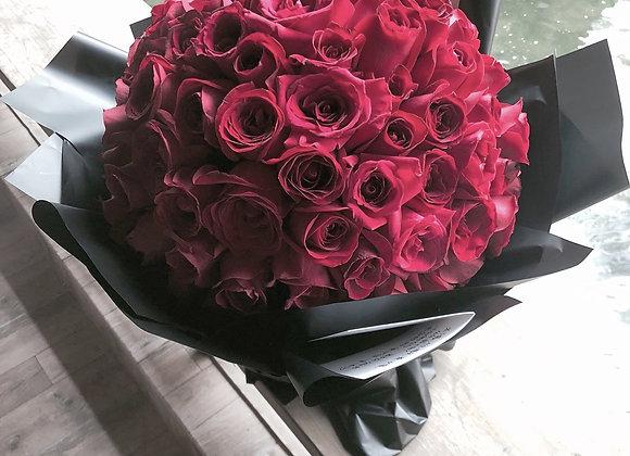 99stalks red roses