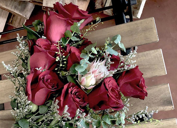 Bridal Bouquet in RED