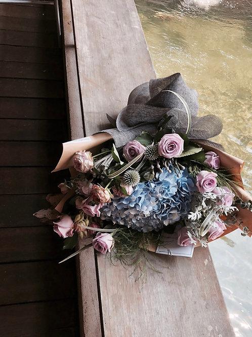 Hydrangea fever L size bouquet
