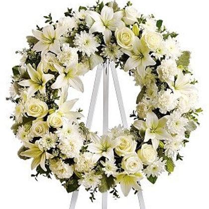 Condolence white full