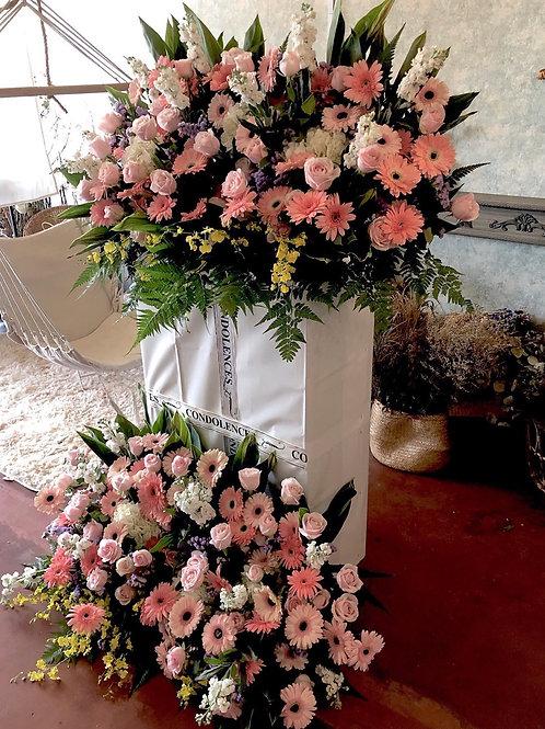 XL size Condolence stand