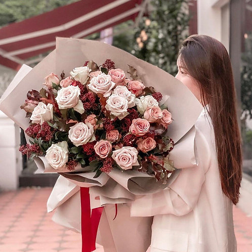Imported roses