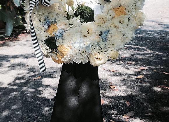 Condolence wreath 1