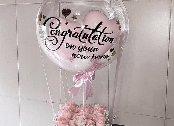 Hot air balloon flower box customize.