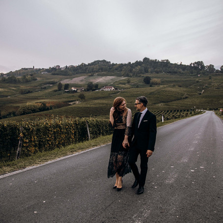 Fall-ing in love with the Langhe region : A Styled Shoot