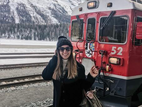 All aboard the Bernina Express!